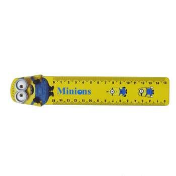 خط کش مدل مینیونز سایز 15 سانتی متر