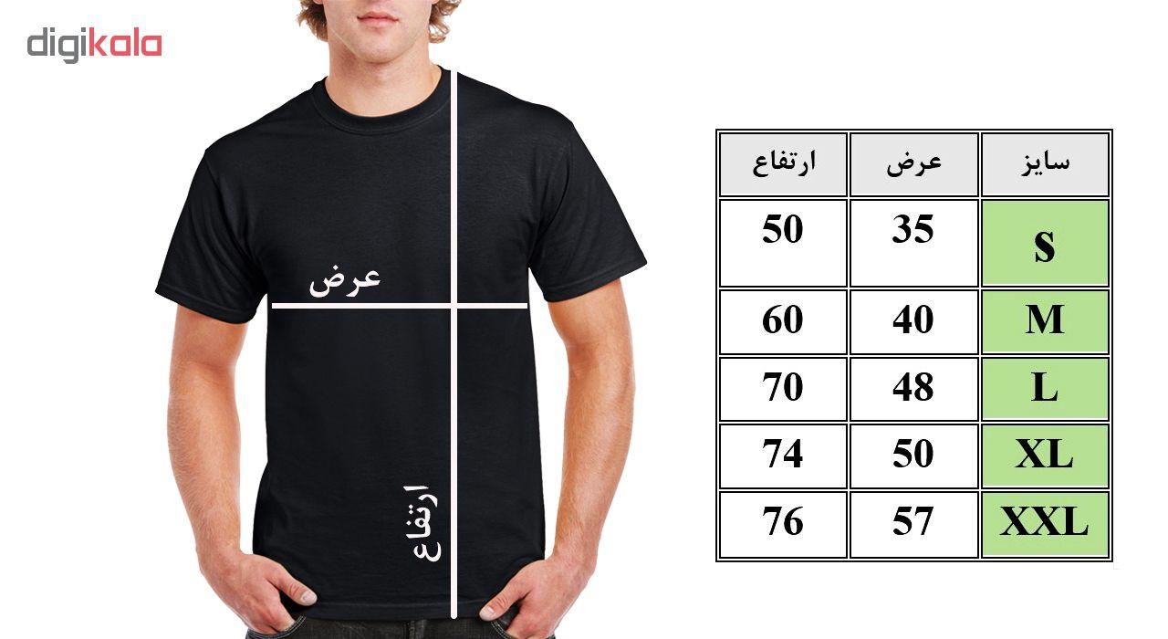 تی شرت مردانه فلوریزا  طرح بدنسازی کد 001