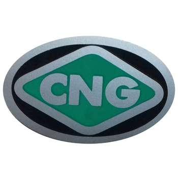 برچسب بدنه خودرو طرح CNG مدل BR8 بسته 2 عددی