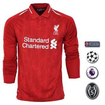 پیراهن ورزشی مردانه طرح صلاح مدل لیورپول SL-home18/19 به همراه تگ |