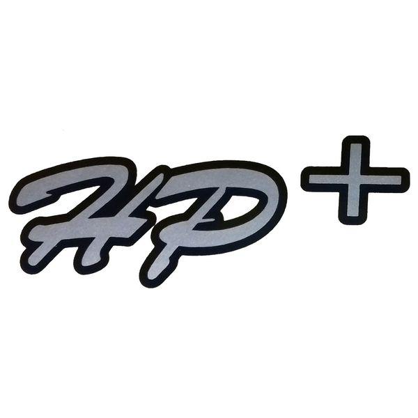 برچسب بدنه خودرو طرح HP+ مدل BR10 بسته 2 عددی