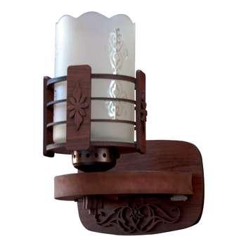 چراغ دیواری چوبین مدل M 12/1