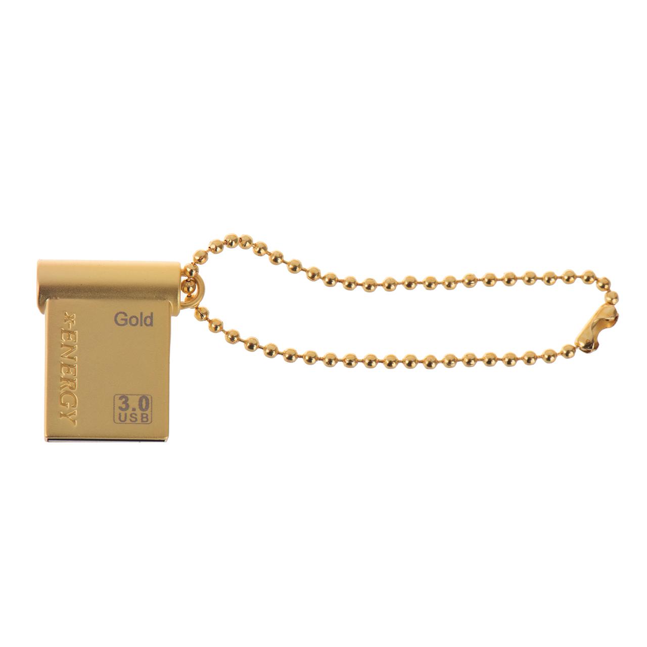 فلش مموری ایکس-انرژی مدل USB3.0 Gold ظرفیت 64 گیگابایت