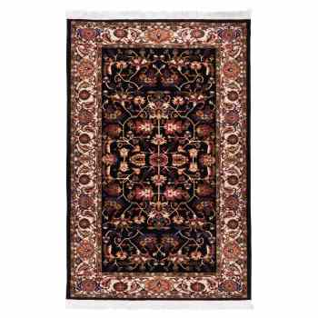 فرش ماشینی دنیای فرش طرح عشایری کد 828