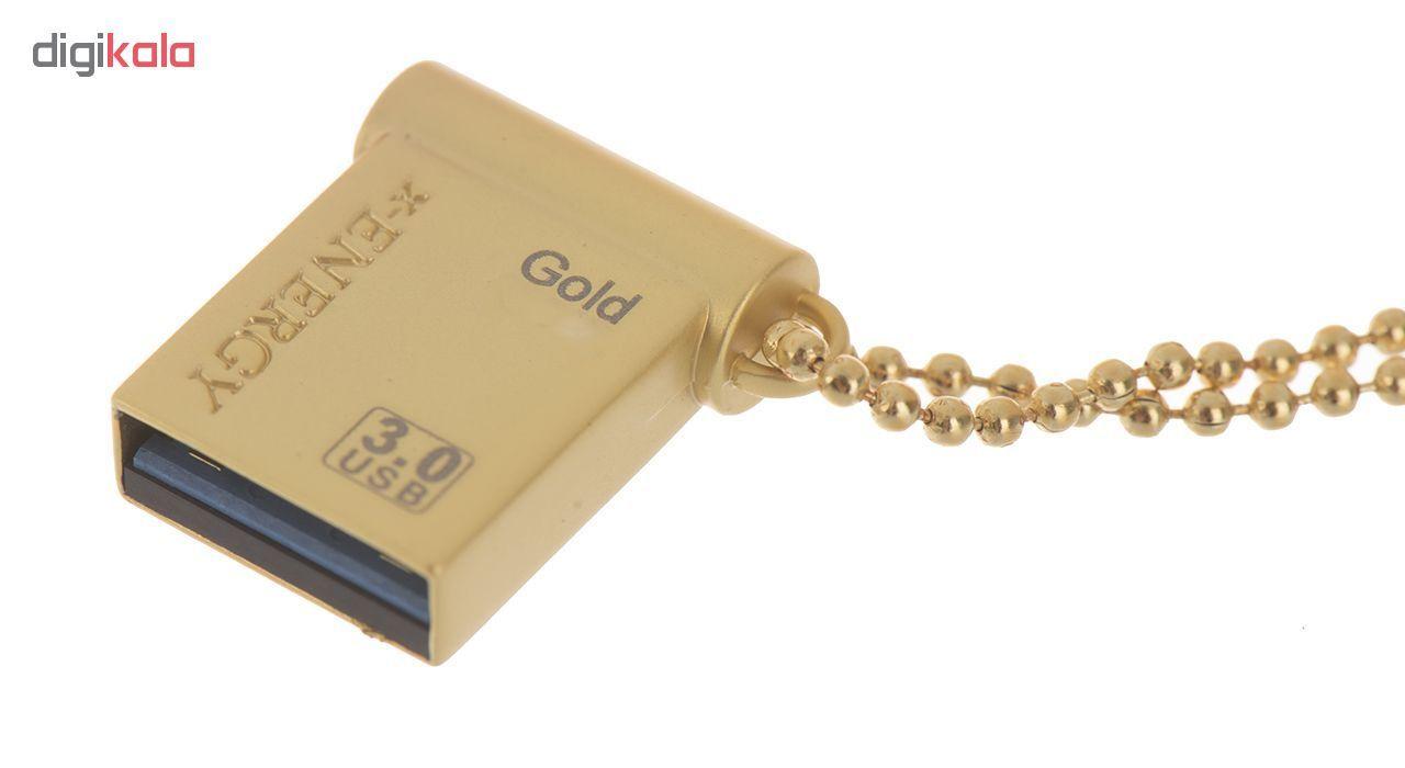 فلش مموری ایکس-انرژی مدل USB3.0 Gold ظرفیت 64 گیگابایت main 1 2
