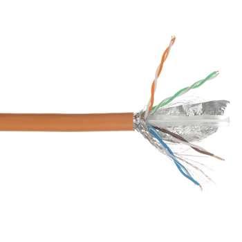 کابل شبکه ویسمن مدل Cat 6 SFTP CU با تست فلوک به طول 500 متر |
