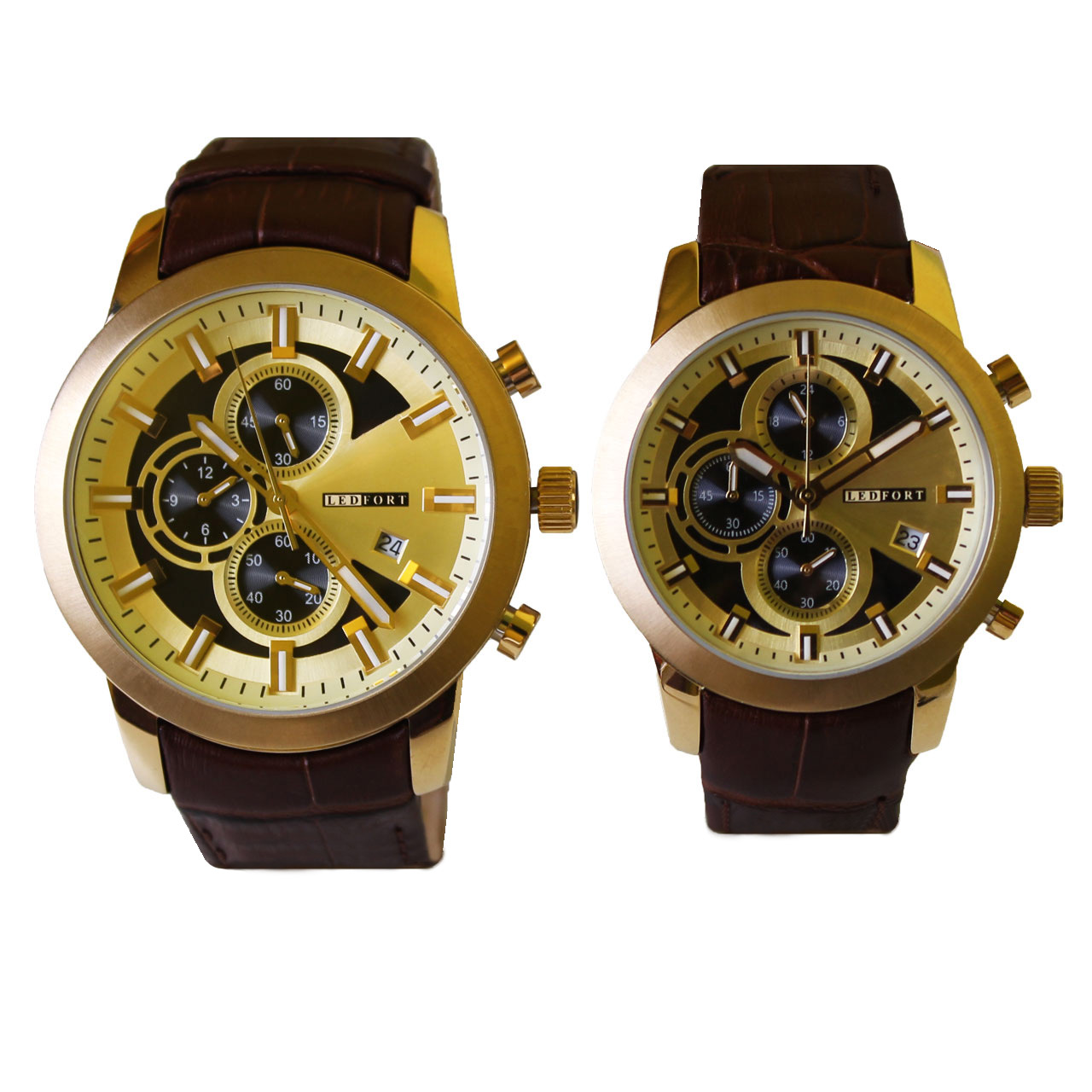 ساعت ست مردانه و زنانه لدفورت مدل SK-0001