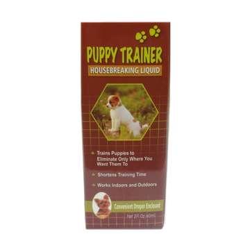 قطره تعلیم ادرار سگ پاپی ترینر مدل Housebreaking Liquid حجم 60 میلی لیتر
