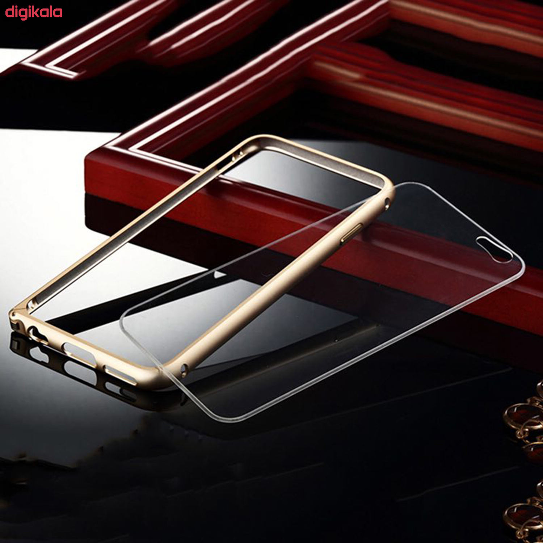 بامپر مدل LF156 مناسب برای گوشی موبایل اپل iPhone 6/6S به همراه محافظ پشت گوشی main 1 5