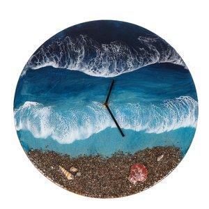 ساعت دیواری دژاوو طرح دریا