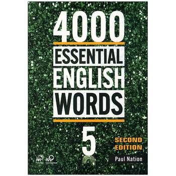 کتاب 4000ESSENTIAL ENGLISH WORDS 5 اثر paul nation انتشارات زبان مهر