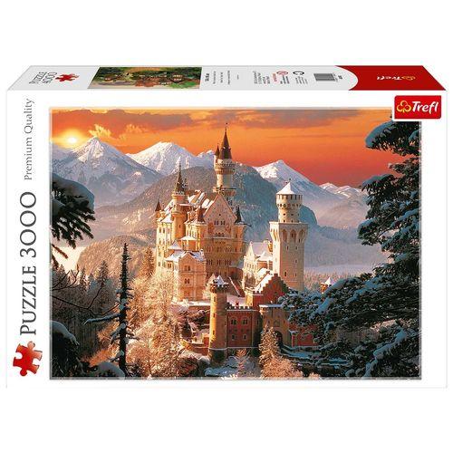پازل 3000 تکه قلعه نوشواینشتاین در زمستان