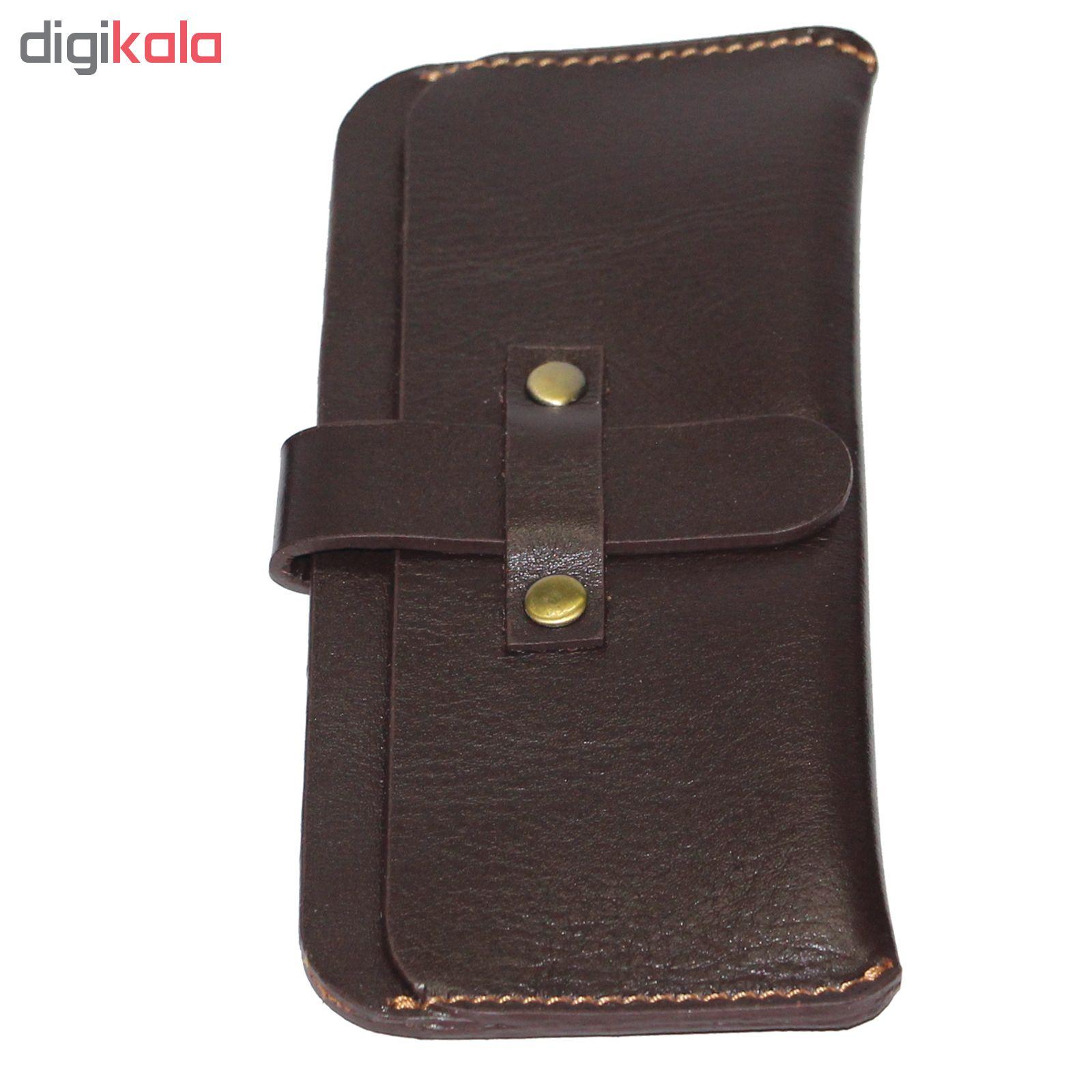 کیف موبایل آدین چرم DM66 چرم گاوی مناسب برای IPHONE X/XR/XS SAMSUNG S10+/A50/A9/A70 Nova 3 P30 pro