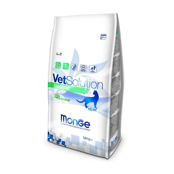 غذای خشک گربه مونگه مدل Diabetic-81757 وزن 1.5 کیلوگرم