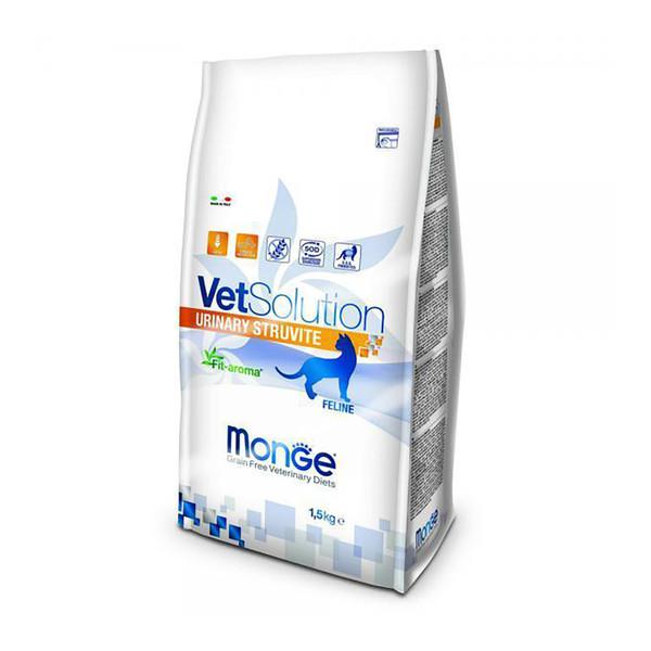 غذای خشک گربه مونگه مدل Urinary Struvite-81580 وزن 1.5 کیلوگرم