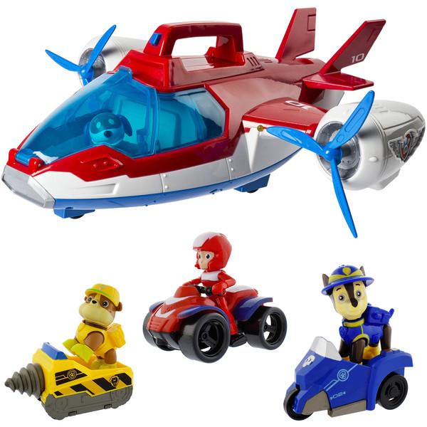 ست اسباب بازی طرح هواپیمای سگ های نگهبان مدل Sea Rescue بسته 7 عددی