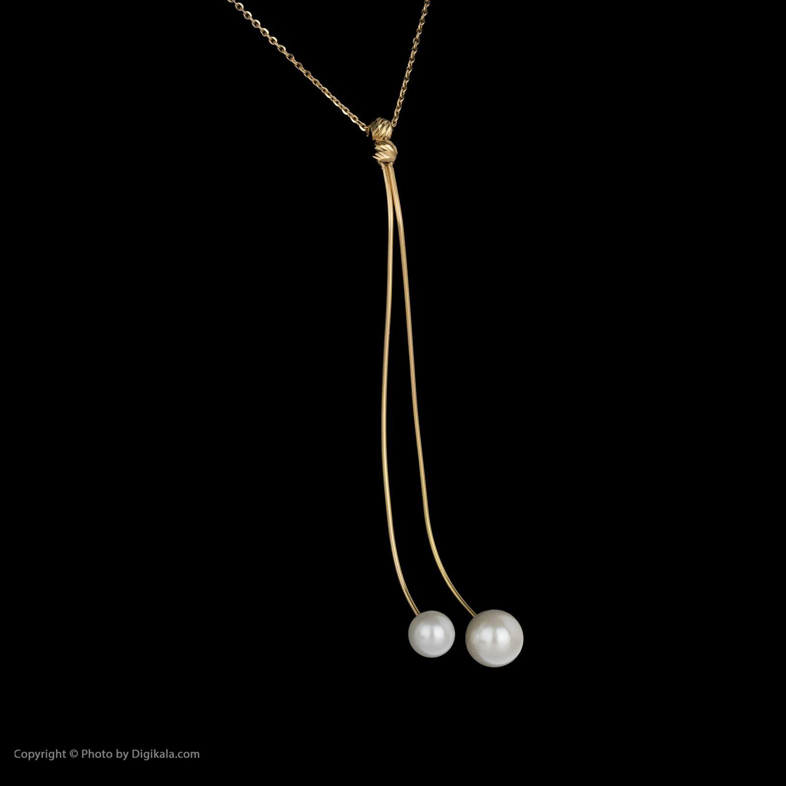 گردنبند طلا 18 عیار زنانه سیودو مدل 145582 -  - 4
