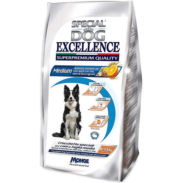 غذای خشک سگ اسپشیال داگ مدل Medium Adult-80200 با طعم مرغ، برنج و مرکبات وزن 12 کیلوگرم