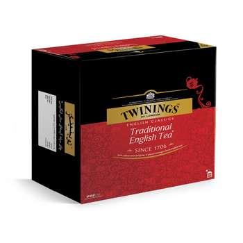 چای سیاه کیسه ای تویینینگز سنتی انگلیسی بسته 100 عددی