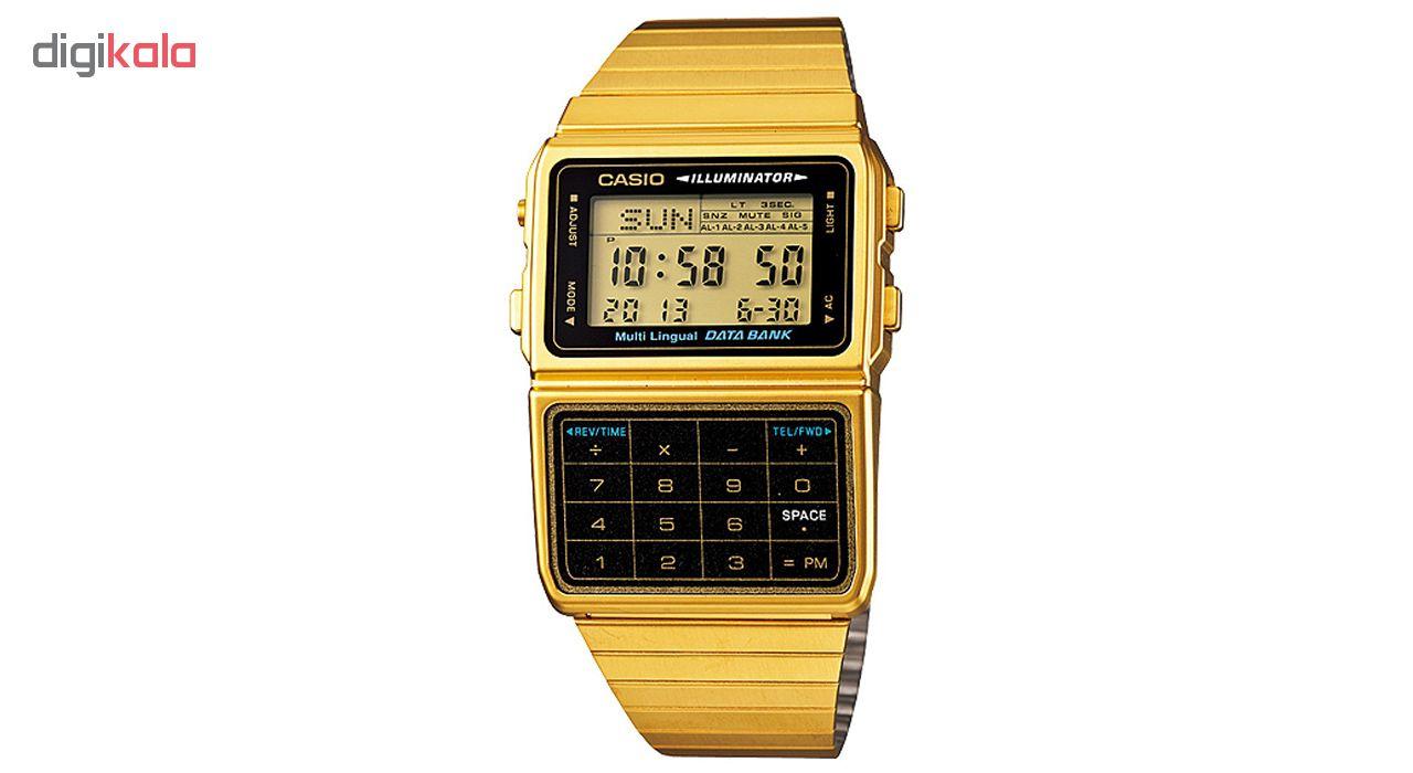 ساعت مچی دیجیتالی کاسیو مدل DBC-611G-1DF             قیمت