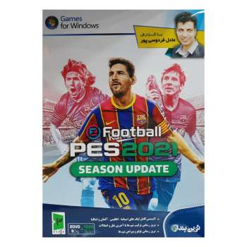 بازی Pes 2021 با گزارش فارسی عادل فردوسی پور مخصوص pc نشر نوین پندار