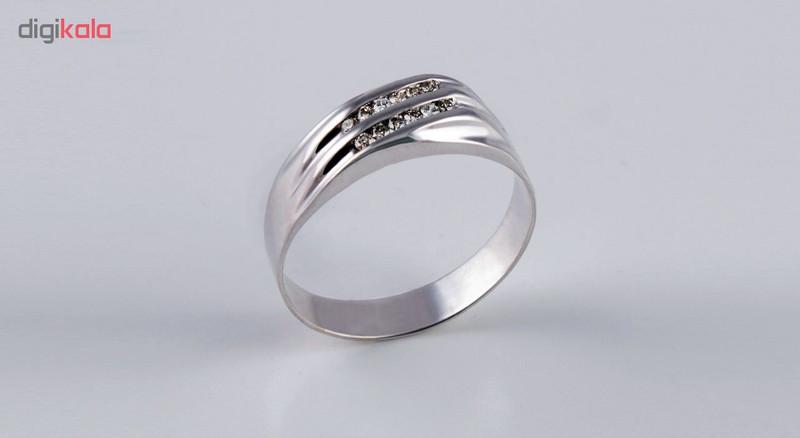 انگشتر طلا 18 عیار جواهری سون مدل 2064