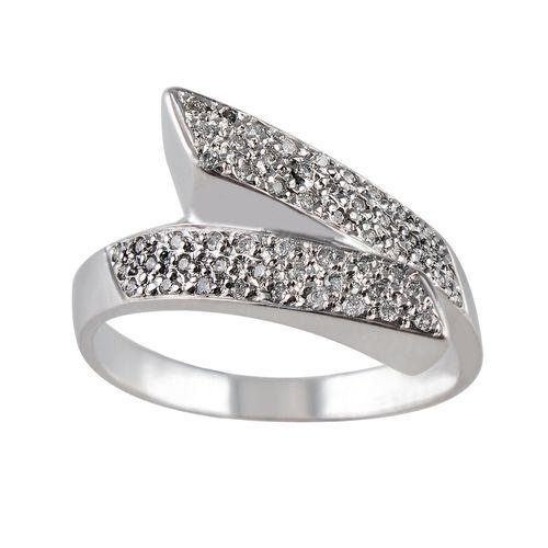 انگشتر طلا 18 عیار جواهری سون مدل 2065