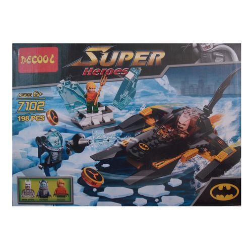 ساختني دكول سري super heroes مدل 7102