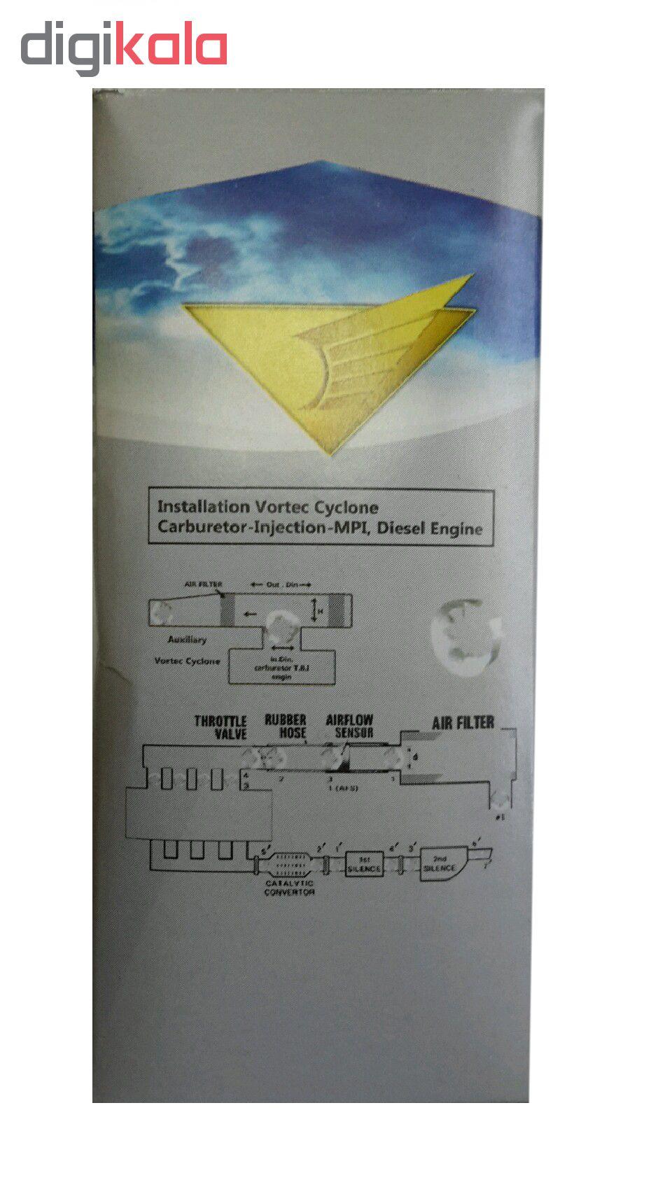 تقویت کننده شتاب خودرو ورتک سایکلون مدل VC-6