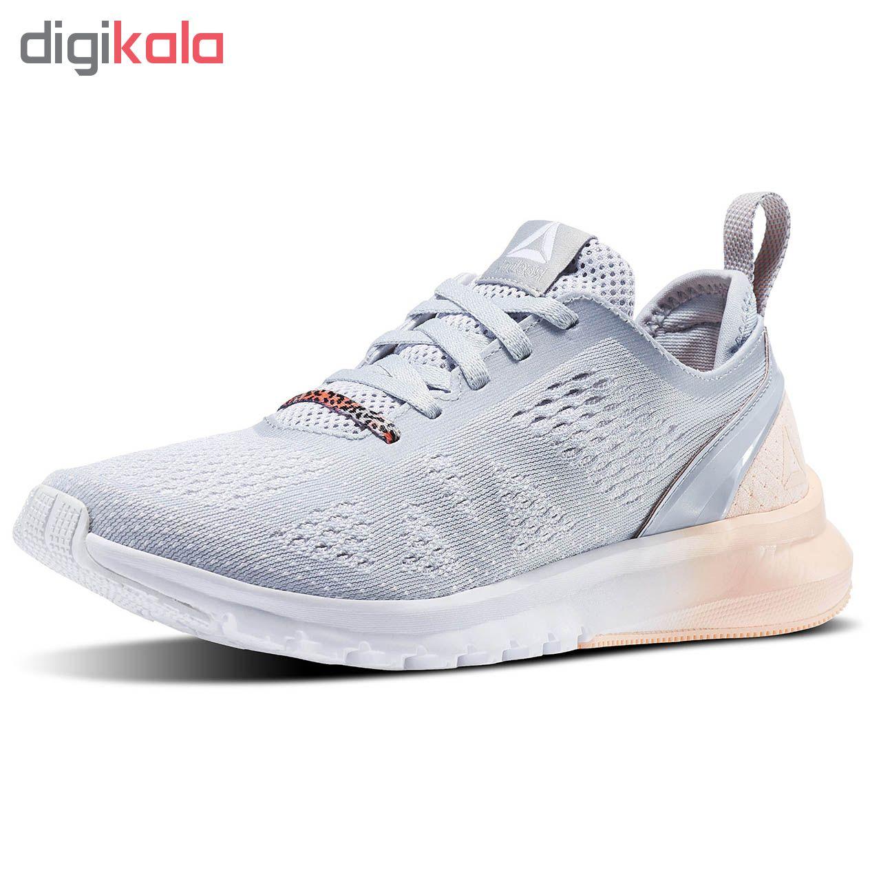 کفش مخصوص پیاده روی زنانه ریباک مدل Print Smooth Clip Ultraknit کد bs8584