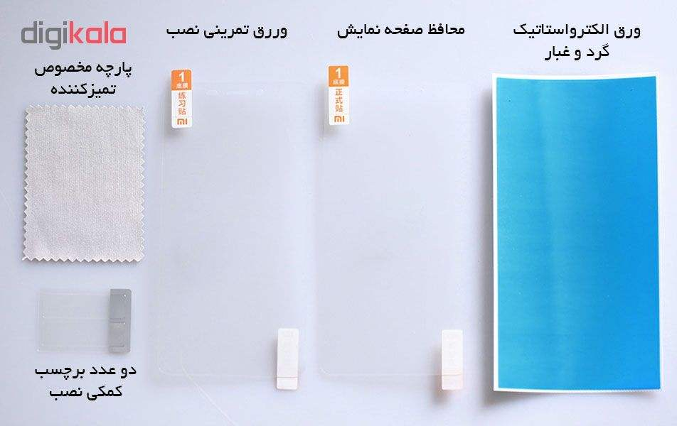 محافظ صفحه نمایش شیائومی مدل UBV4034CN مناسب برای گوشی شیائومی Redmi Note main 1 6