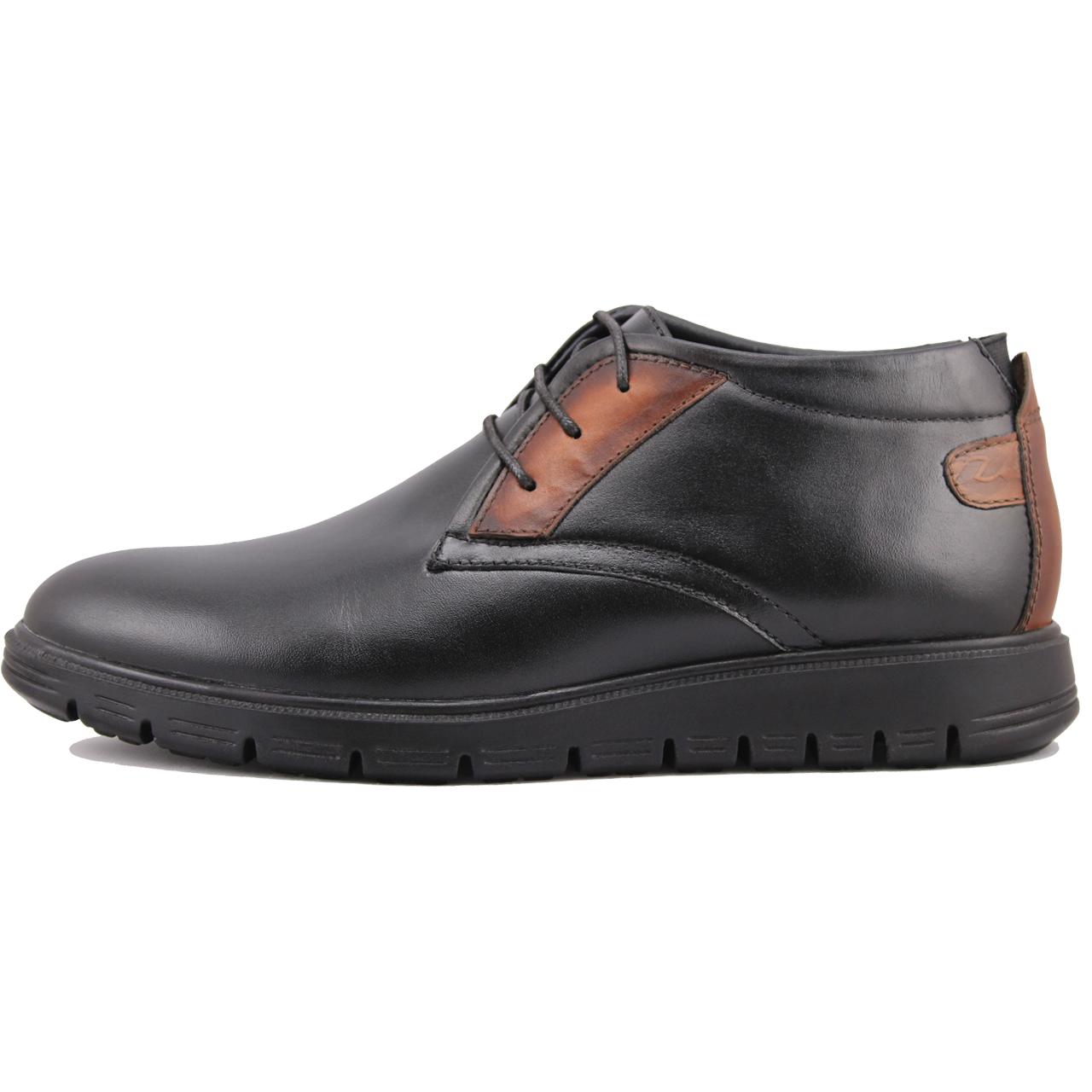 کفش مردانه چرم طبیعی ژاو مدل 1201