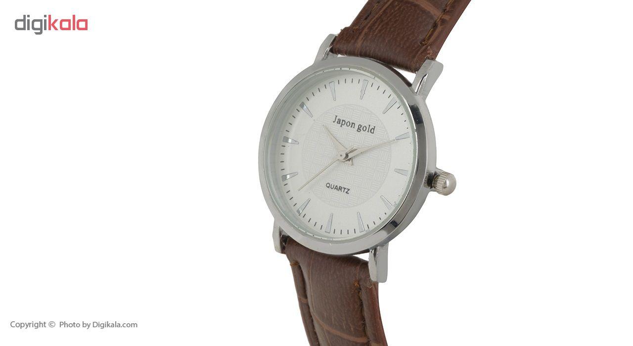 ساعت مچی عقربه ای زنانه ژاپن گلد مدل Zw10              خرید (⭐️⭐️⭐️)