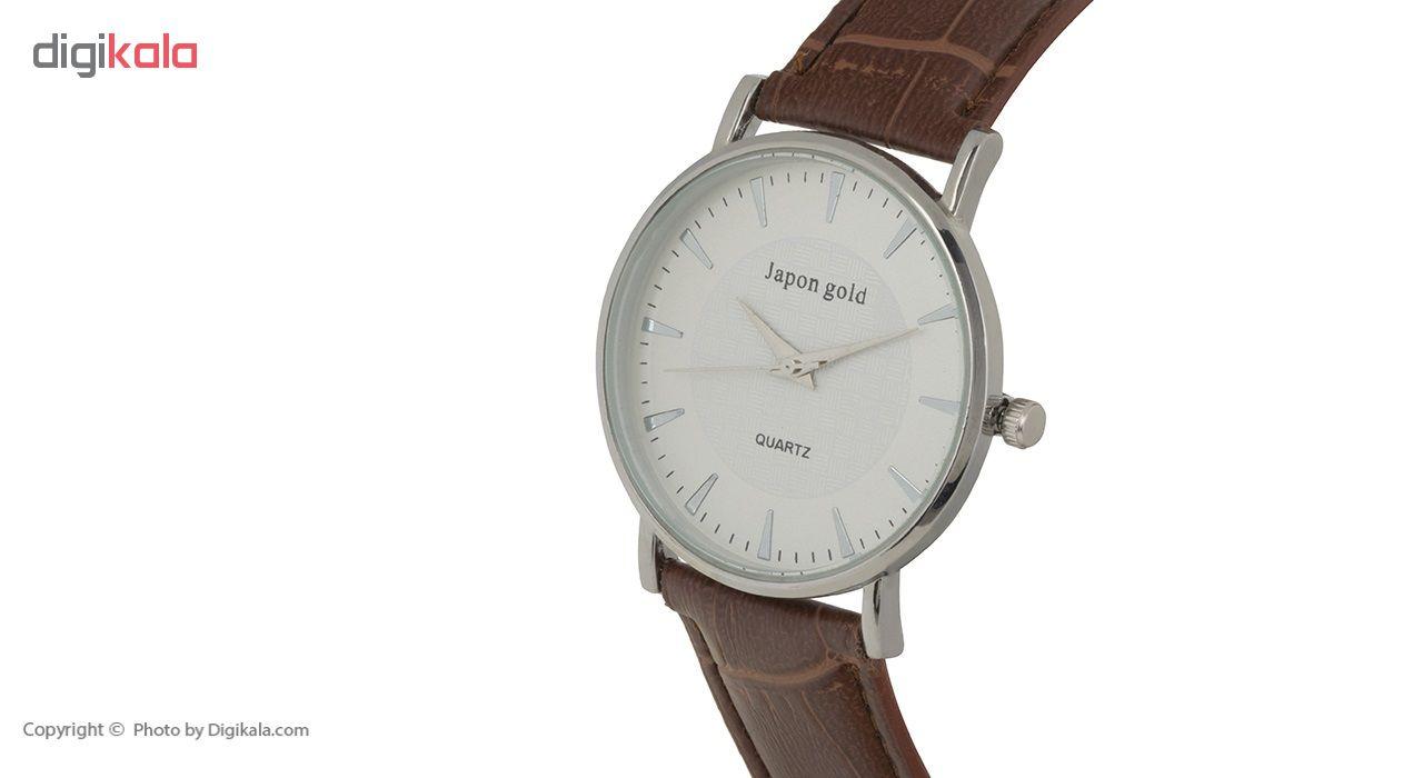 ساعت مچی عقربه ای ژاپن گلد مدل Zm10