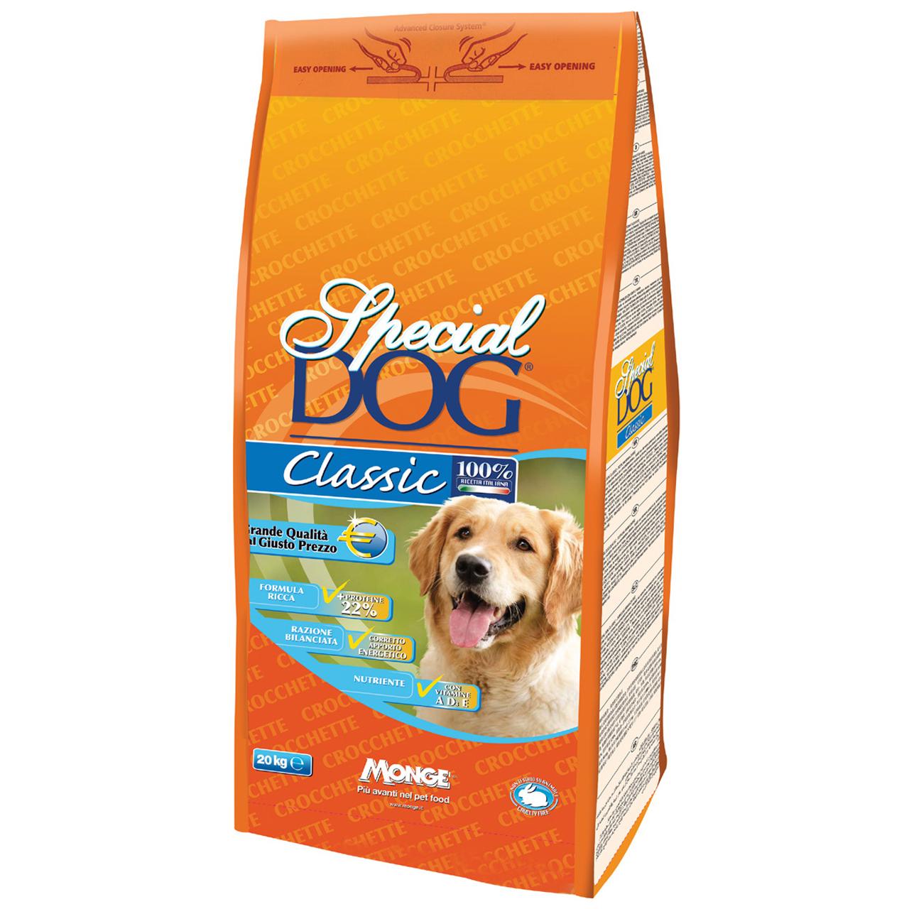 غذای خشک سگ اسپشیال داگ مدل Classic-00192 کلاسیک وزن 20 کیلوگرم