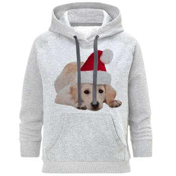 هودی زنانه مدل سگ کریسمس B80 |