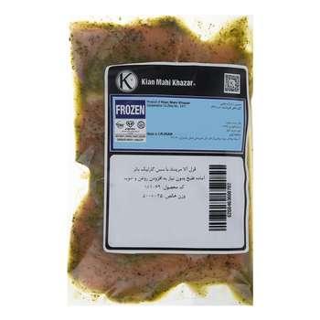 ماهی قزل آلا مرینت منجمد با سس سیر و کره کیان ماهی خزر مقدار 500 گرم