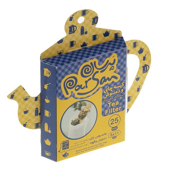 فیلتر چای پرسان کد 500411  بسته 25 عددی