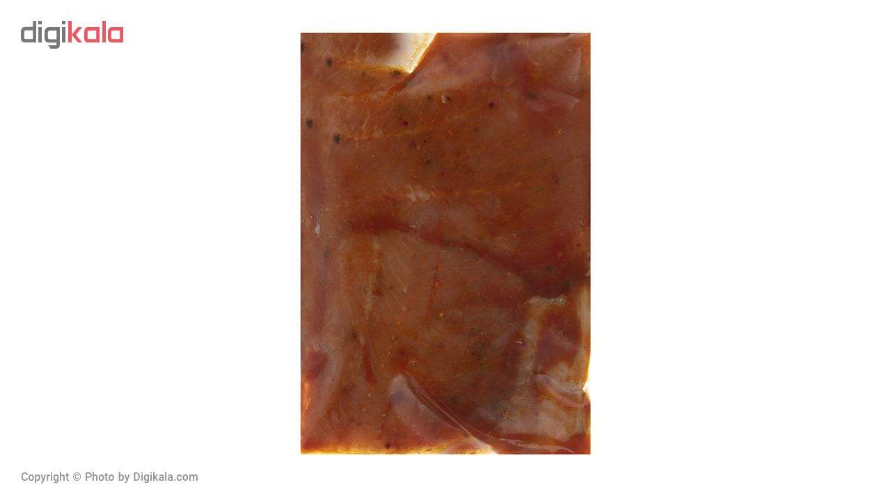 ماهی قزل آلا مرینت منجمد با سس هالوپینو کیان ماهی خزر مقدار 500 گرم main 1 2