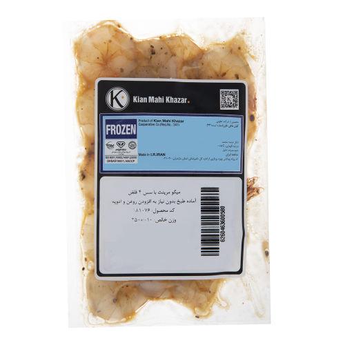 میگو مرینت منجمد با سس 4 فلفل کیان ماهی خزر مقدار 250 گرم