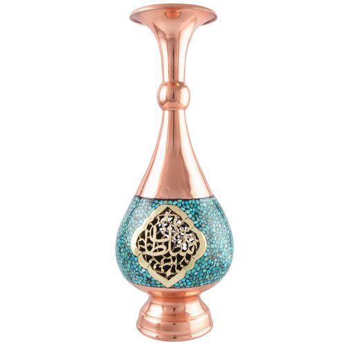 گلدان فیروزه کوبی صاحب کد 123064