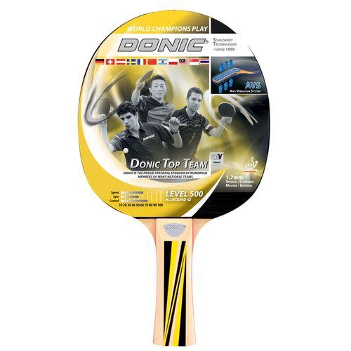 راکت پینگ پنگ دونیک شیلدکروت مدل Top Team Level 500