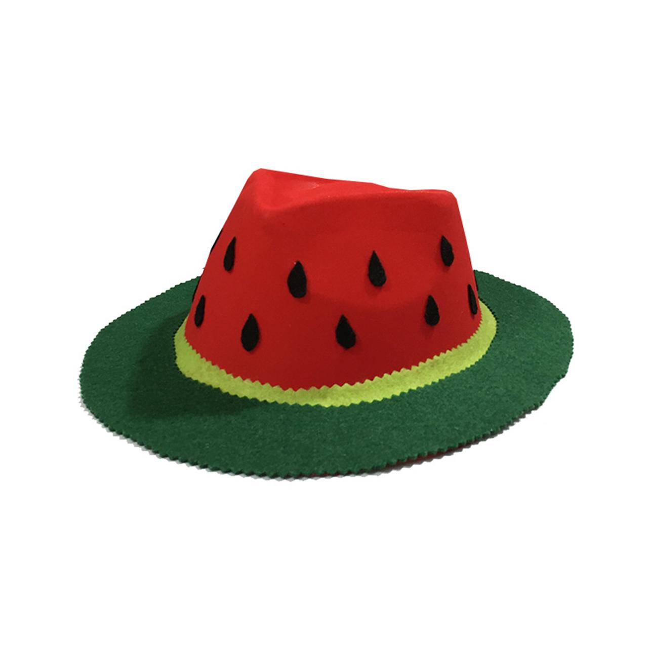 عکس کلاه سورتک طرح هندوانه شب یلدا مدل STY119