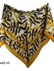 روسری زنانه لمیز مدل برگ  -  - 7