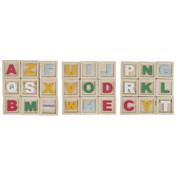 مکعب حروف الفبای انگلیسی کروماتیک  کد AC