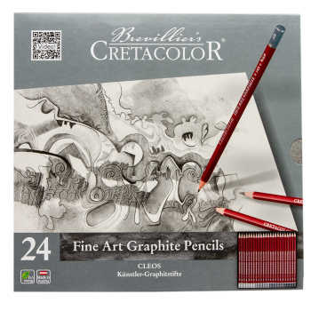 مداد طراحی کرتاکالر مدل 16024 بسته 24 عددی