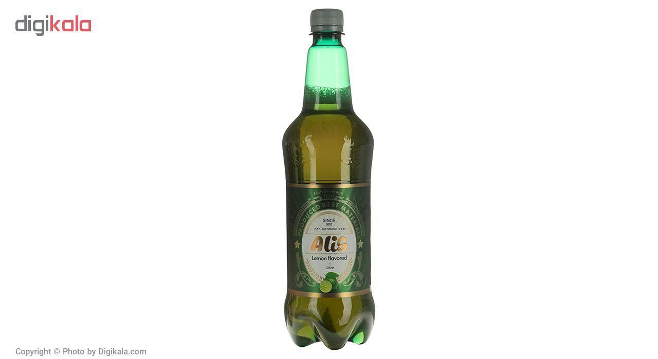 نوشیدنی مالت عالیس با طعم لیمو مقدار 1000میلی لیتر main 1 2
