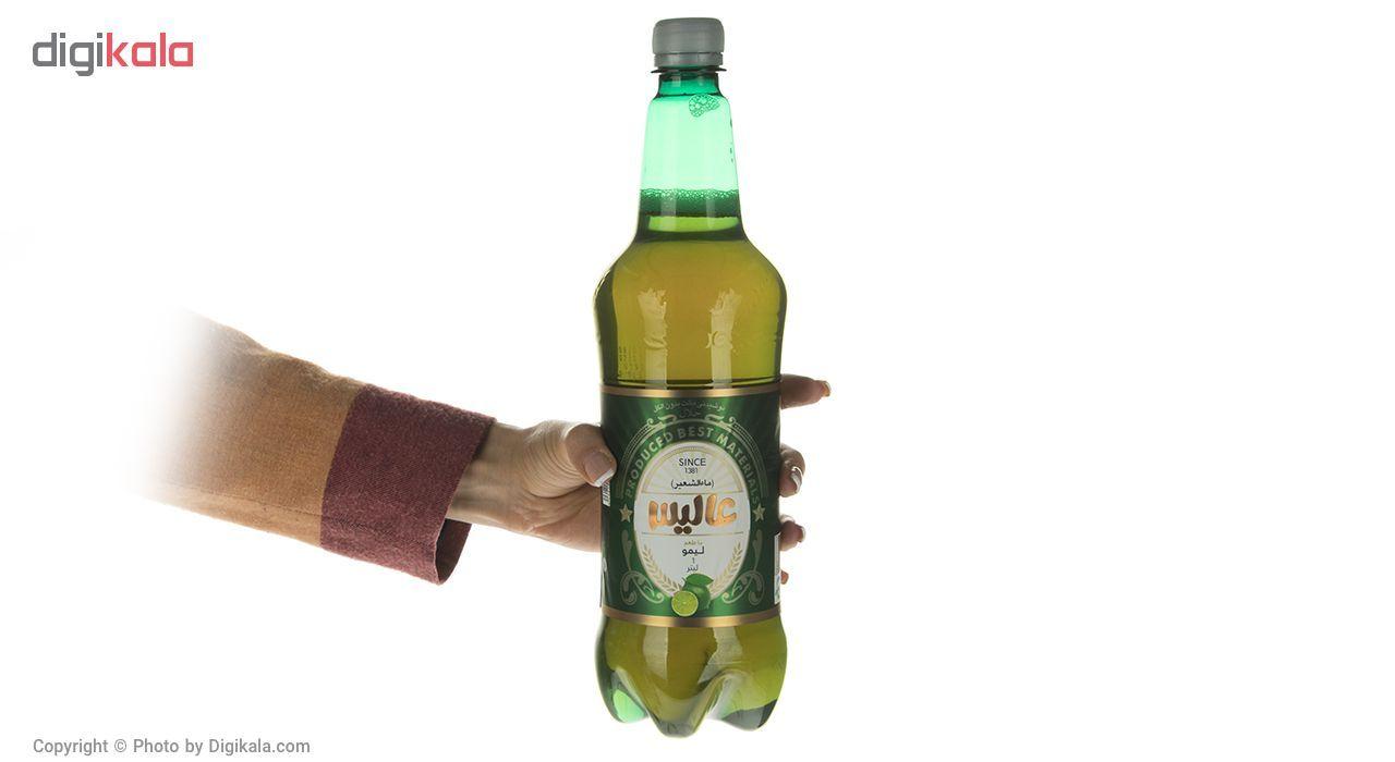 نوشیدنی مالت عالیس با طعم لیمو مقدار 1000میلی لیتر main 1 4