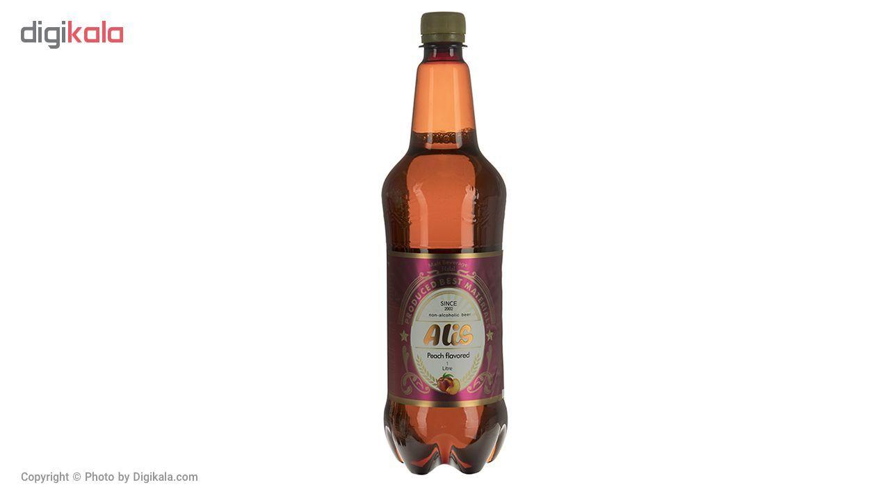 نوشیدنی مالت عالیس با طعم هلو مقدار 1000میلی لیتر main 1 2