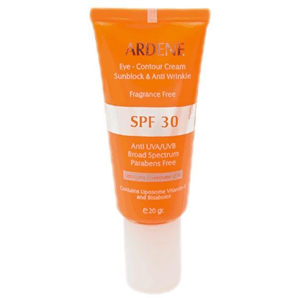کرم ضد آفتاب رنگی دور چشم آردن SPF30 حجم 20 میلی لیتر